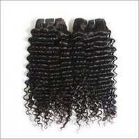 Virgin Indian Wefted Curly Hair