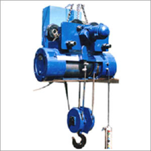 Conventional Wire Rope Hoists