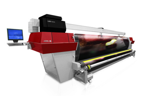 Solvent Roll to Roll Printer
