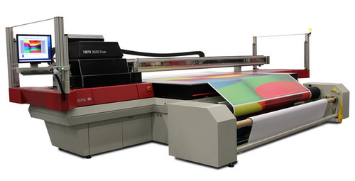 UV Flatbed Roll Printer