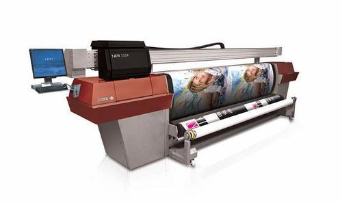 UV Flatbed AGFA Roll to Roll Printer