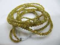 Natural Yellow Diamond beads