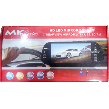 7 Inch Rear View Mirror Screen