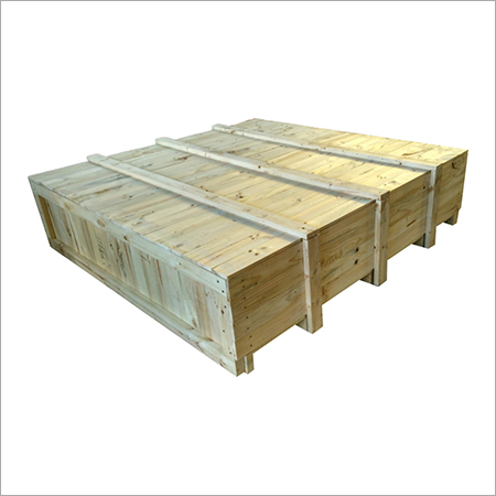 Industrial Pine Wood Box