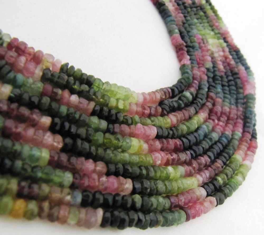 tourmaline Faceted beads