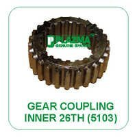 Inner Gear Coupling (26 Th) 5103 Green Tractors