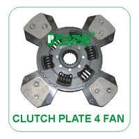 Clutch Plate 4 Fan Type (19 Th.) Green Tractors