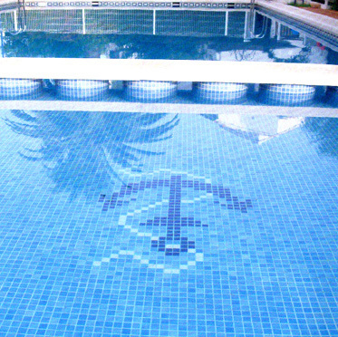 Swimming Pool Glass Mosaic Murals