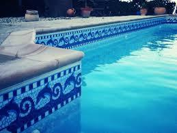 Swimming Pool Border Mosaic Tiles