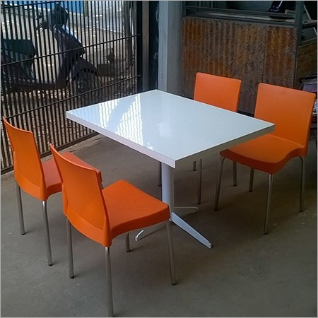 Cafe Table with Chairs