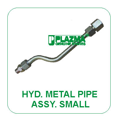 Hyd. Metal Pipe Assy. Small Green Tractors
