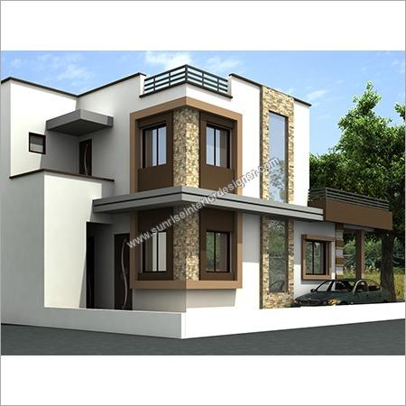 3D Model Outdoor Exterior Designing
