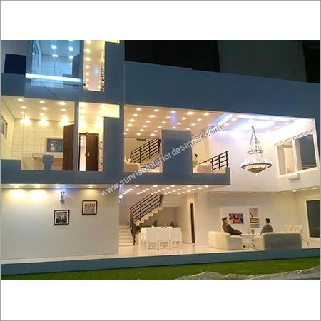 Exterior Apartment Model Designing