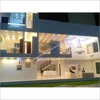Exterior Apartment Model Designing