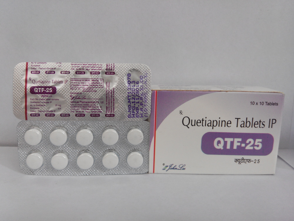 Qutiapine Fumirate 25 MG Tablet