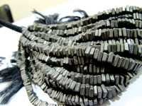 Pyrite Heishi cut Beads