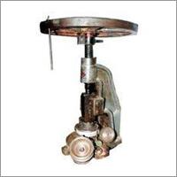 Hand Press Thali Machine