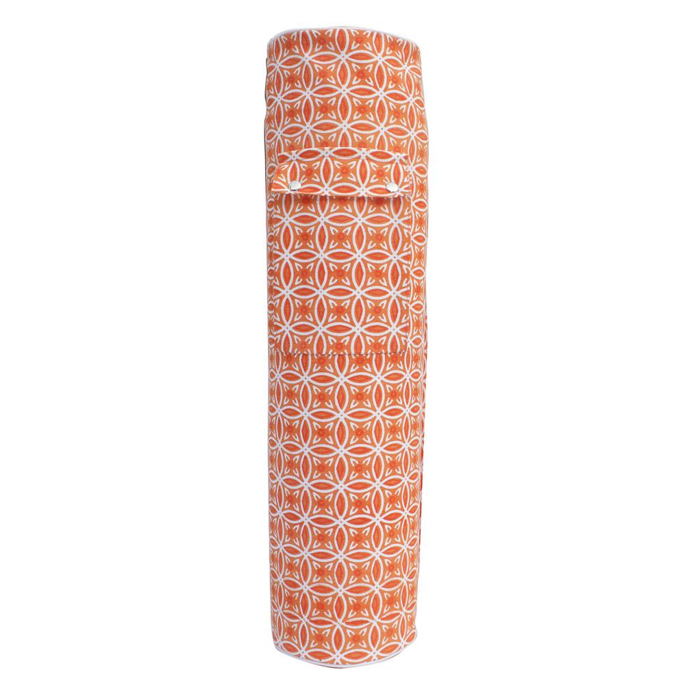 Custom Printed Mat Bag- Saffron