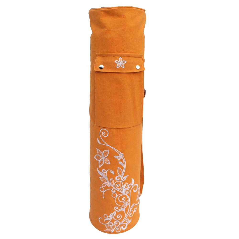 Wild-life Embroidery- Orange