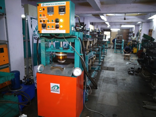 Fully Automatic Hydraulic Plate Making Machine