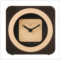 Wooden Finish Table Clock