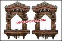 Wedding Wooden Handicraft Jharokha Frame