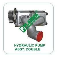 Hyd. Pump Assy. Double Type Green Tractors