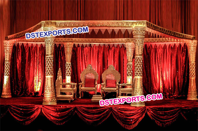 Wedding Fiber Mandap Manufacturer