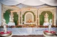 Bollywood Wedding Stage Set