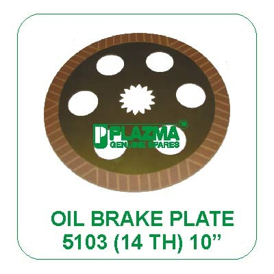 Oil Brake Plate 5103 (14 th.) John Deere