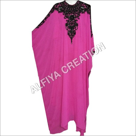 Embroidered Georgette Kaftan
