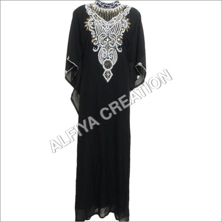 Gorgeous Black Kaftan