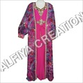 Printed Jacket Kaftan