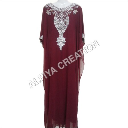 Embroidered Farasha Kaftan