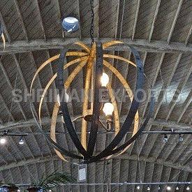 Barrel Ring Lamp