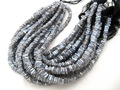 Mystic Labradorite Rondelle Beads