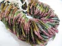 Multi color Tourmaline beads