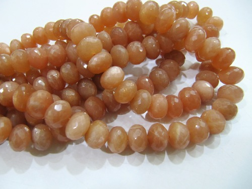 Moonstone Beads Peach color