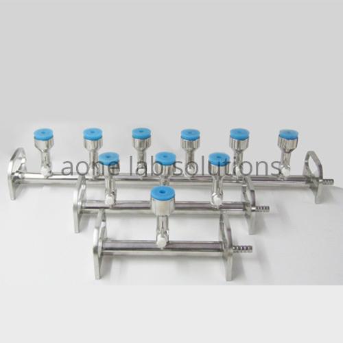 6 Branch Sterility Testing Manifold