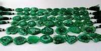 Green Solar Quartz Druzy Stalactite