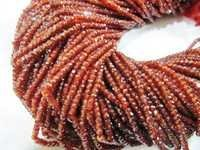 Garnet color CZ beads