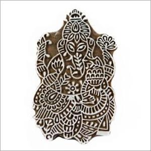 Ganesha Print Block