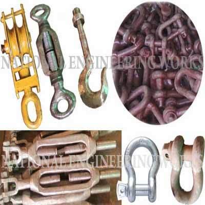 Alloy Steel Lifting Hooks & Shackles