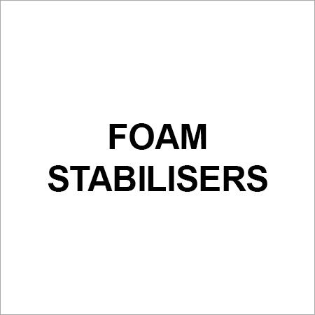 Foam Stabilisers