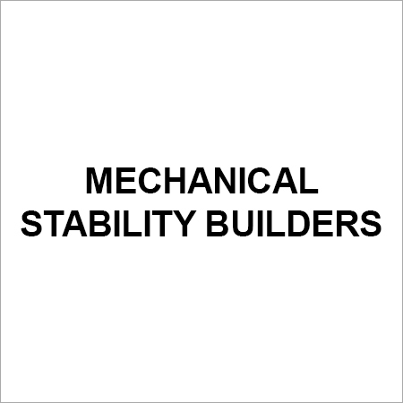 Mechanical Stability Builders