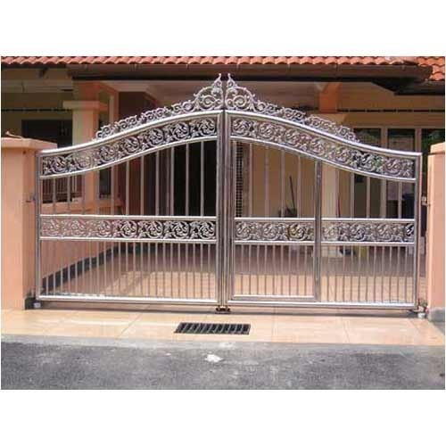 Fancy Stainless Steel Gates