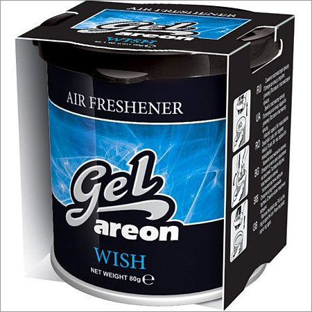 Areon Black Crystal Gel Air Freshener for Car (80 g)