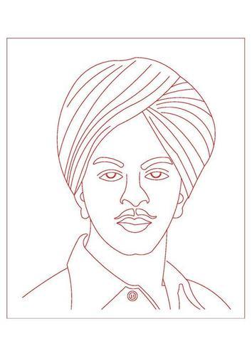 portrait engraving designs