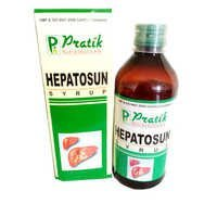 HEPATOSUN Ayurvedic Syrup (Double Concentrate Liver Tonic)