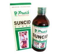 SUNCID Syrup (Herbal medicine in acid peptic)